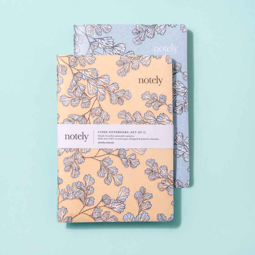 Notely Fern Fancy Notebook Collection