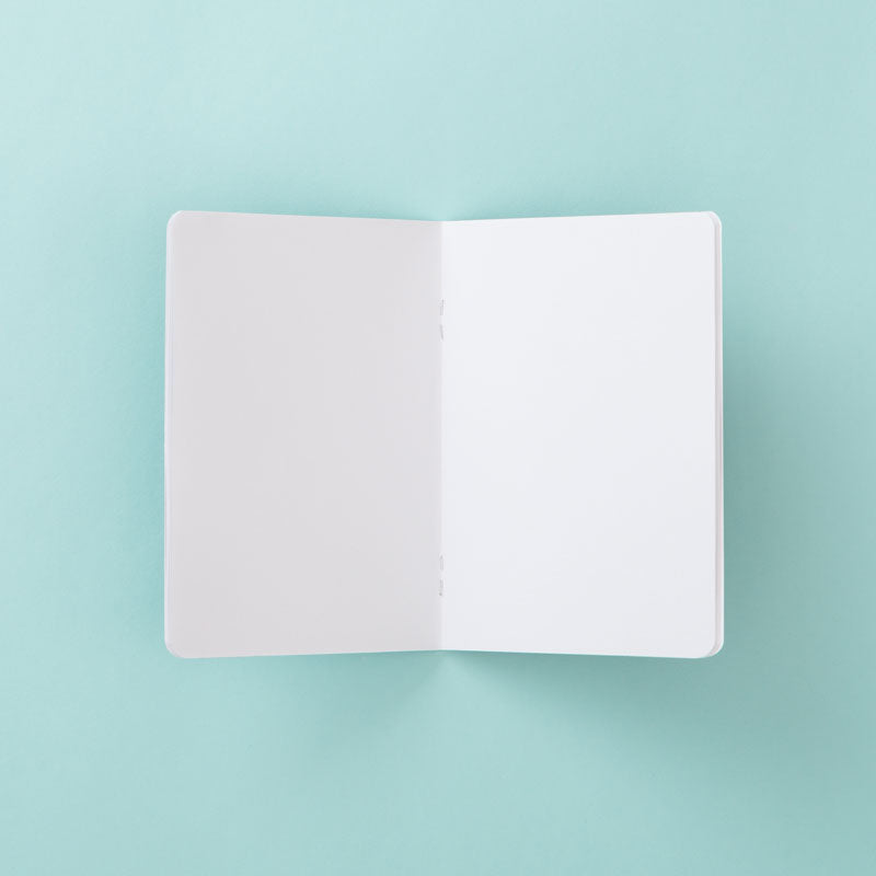 Leafy Light Grey – A6 Pocket Notebook (Set of 2)