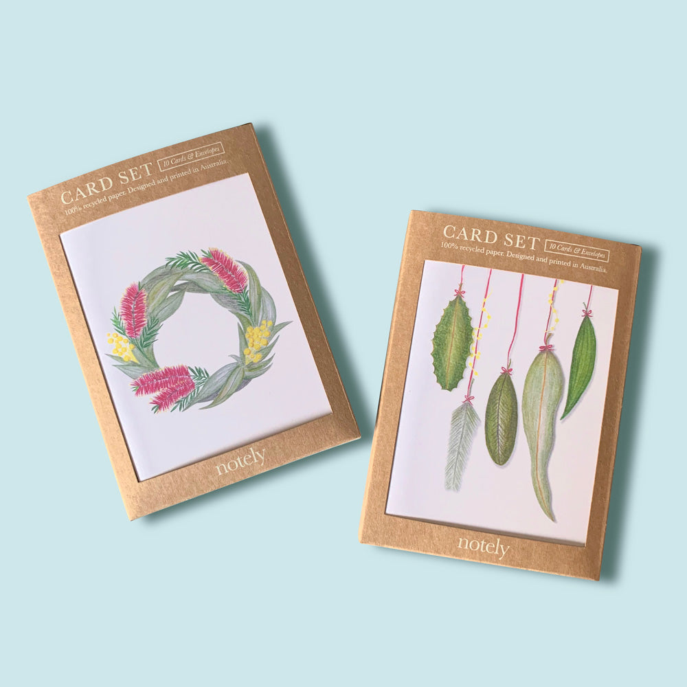 Native Flower Christmas Cards (Box of 10)