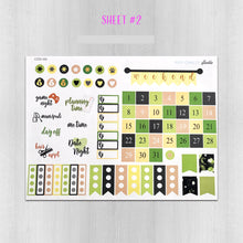 Load image into Gallery viewer, Yoga Weekly Mini Planner Sticker Kit