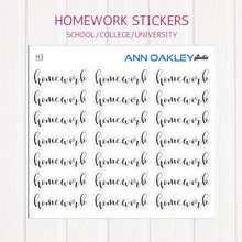 Load image into Gallery viewer, Homework Planner Stickers | School Planner Stickers