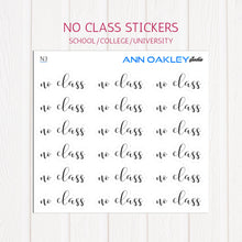 Load image into Gallery viewer, No Class Planner Stickers