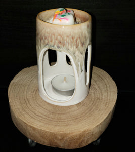 Brown beauty ceramic wax warmer