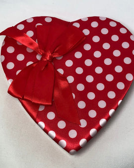 6 oz. Polka Dot Heart