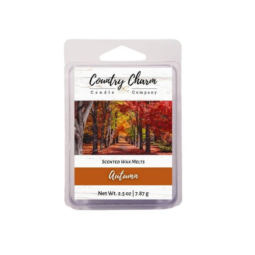 autumn scented wax melts