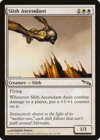 Slith Ascendant [Mirrodin] | The Mighty Meeple