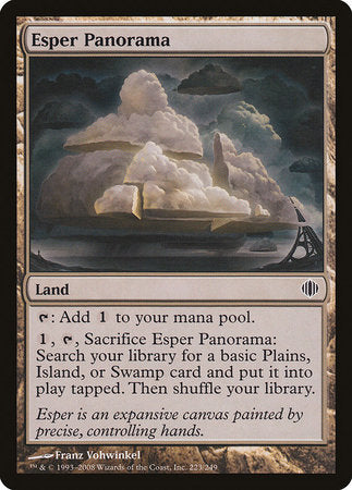 Esper Panorama [Shards of Alara] | The Mighty Meeple