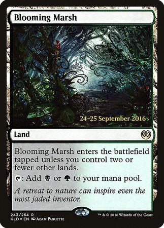 Blooming Marsh [Kaladesh Promos] | The Mighty Meeple