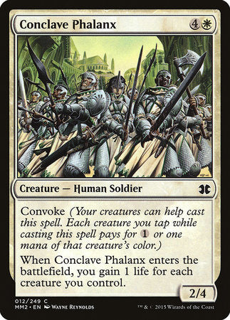 Conclave Phalanx [Modern Masters 2015] | The Mighty Meeple