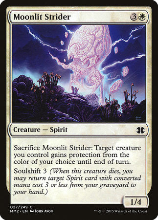 Moonlit Strider [Modern Masters 2015] | The Mighty Meeple