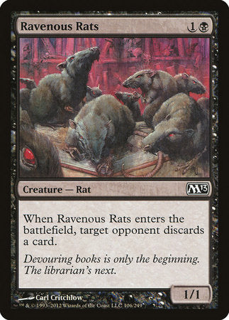 Ravenous Rats [Magic 2013] | The Mighty Meeple
