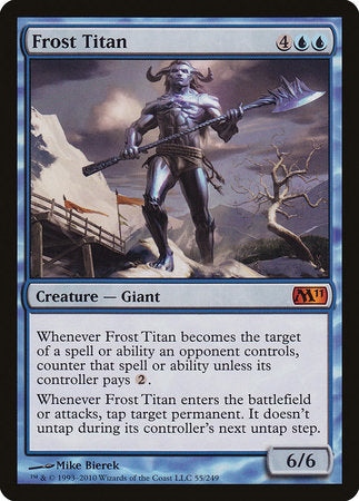 Frost Titan [Magic 2011] | The Mighty Meeple