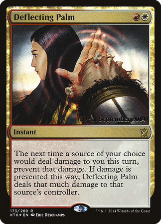 Deflecting Palm [Khans of Tarkir Promos] | The Mighty Meeple