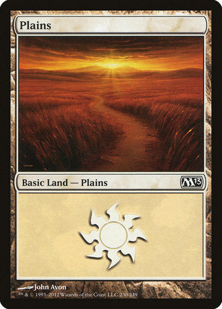 Plains (230) [Magic 2013] | The Mighty Meeple