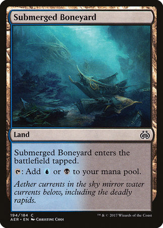 Submerged Boneyard [Aether Revolt] | The Mighty Meeple