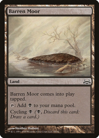 Barren Moor [Duel Decks: Divine vs. Demonic] | The Mighty Meeple