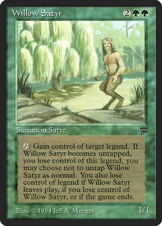 Willow Satyr [Legends] | The Mighty Meeple