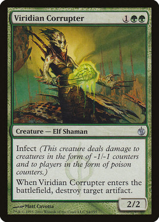 Viridian Corrupter [Mirrodin Besieged] | The Mighty Meeple