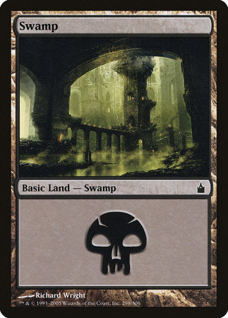 Swamp (298) [Ravnica: City of Guilds] | The Mighty Meeple