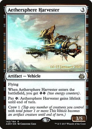 Aethersphere Harvester [Aether Revolt Promos] | The Mighty Meeple