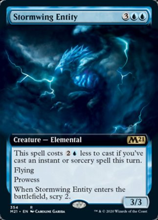 Stormwing Entity (Extended Art) [Core Set 2021] | The Mighty Meeple