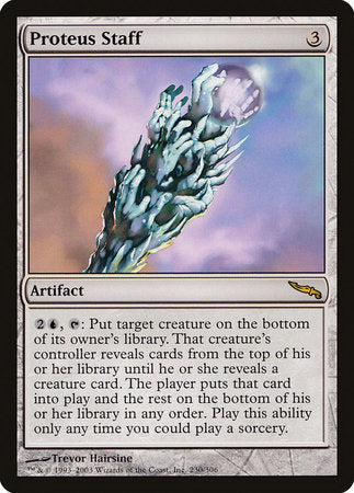 Proteus Staff [Mirrodin] | The Mighty Meeple