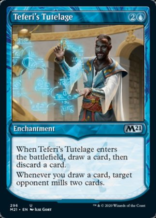 Teferi's Tutelage (Showcase) [Core Set 2021] | The Mighty Meeple
