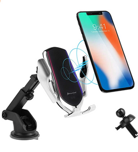 Wironic Charger With Suction Mount Stand