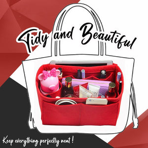 TidyBeauty™ Purse Insert Organizer NeonStellar
