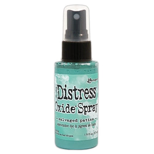 Tim Holtz Distress® Oxide® Spray Salvaged Patina ( April 2021 New Color)