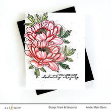Load image into Gallery viewer, Copy of Altenew - Clear Stamp Set - Build A Flower-Hawaiian Coral Layering Stamp and Die