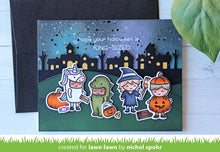 Load image into Gallery viewer, Lawn Fawn - Halloween - Costume Party - clear stamp set
