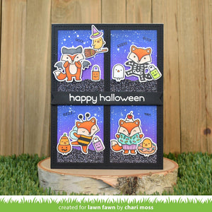 Lawn Fawn-Clear Stamp-Fox Costumes Before 'n Afters