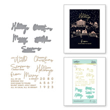 Load image into Gallery viewer, Spellbinders-Hot Foil Plate-Glimmer Plate & Die Set-Yanna's Christmas Sentiments