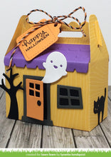 Load image into Gallery viewer, Lawn Fawn - Halloween - Lawn Cuts - Dies - Scalloped Treat Box Haunted House Add-On