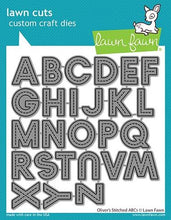 Load image into Gallery viewer, Lawn Fawn -Lawn Cuts-Dies-Oliver's Stitched ABCs