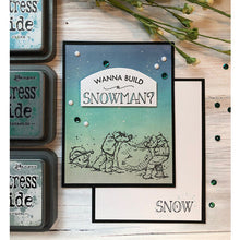 Load image into Gallery viewer, Colorado Craft Company - Lovely Legs Collection - Clear Photopolymer Stamps - Build A Snowman