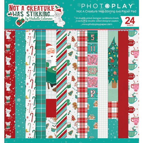 Photo Play Paper - Not A Creature Was Stirring Collection - 6 x 6 Paper Pad
