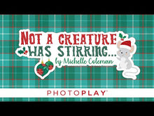 Load and play video in Gallery viewer, Photo Play Paper - Not A Creature Was Stirring Collection - 6 x 6 Paper Pad