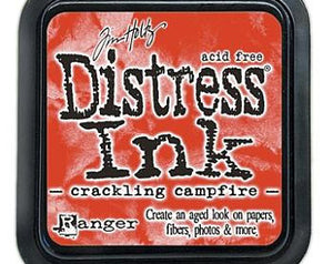 Tim Holtz Distress Ink Pad, Crackling Campfire (2020 New Color) pre-order