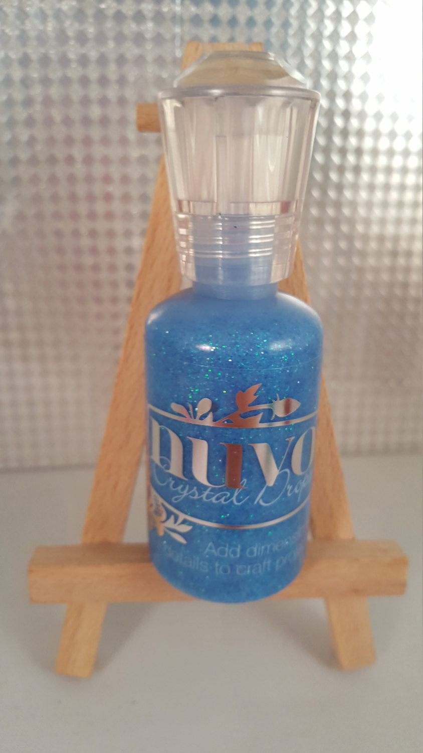 Nuvo Crystal Drops Dazzling Blue