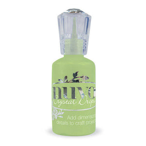 Tonic Studios - Nuvo Collection - Crystal Drops Gloss - Apple Green