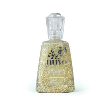NUVO Glitter Accents - Aztec Gold