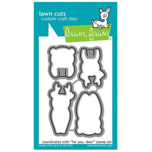 Lawn Fawn - Lawn Cuts - Dies - For You, Deer
