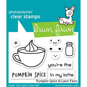 Lawn Fawn - Clear Acrylic Stamps - Pumpkin Spice