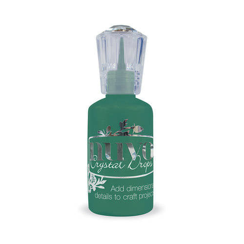 Tonic Studios - Nuvo Collection - Crystal Drops Gloss - Woodland Green