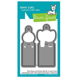 Lawn Fawn - Lawn Cuts - Dies - Slow Down and Enjoy Add-On
