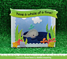 Load image into Gallery viewer, Lawn Fawn - Lawn Cuts - Dies - Shadow Box Card Ocean Add-On