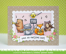 Load image into Gallery viewer, Lawn Fawn - Clear Acrylic Stamps - Critter Concert