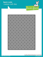Load image into Gallery viewer, Lawn Fawn - Lawn Cuts - Dies - Itsy Bitsy Polka Dot Backdrop